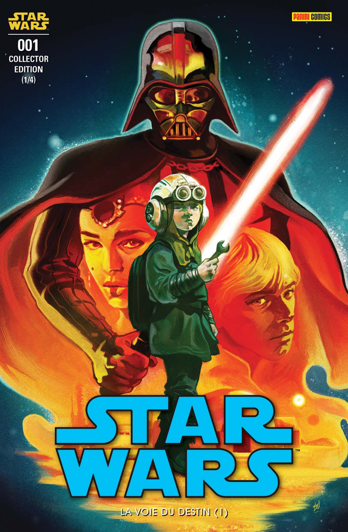 Star Wars 1 - Couverture collector 1/4