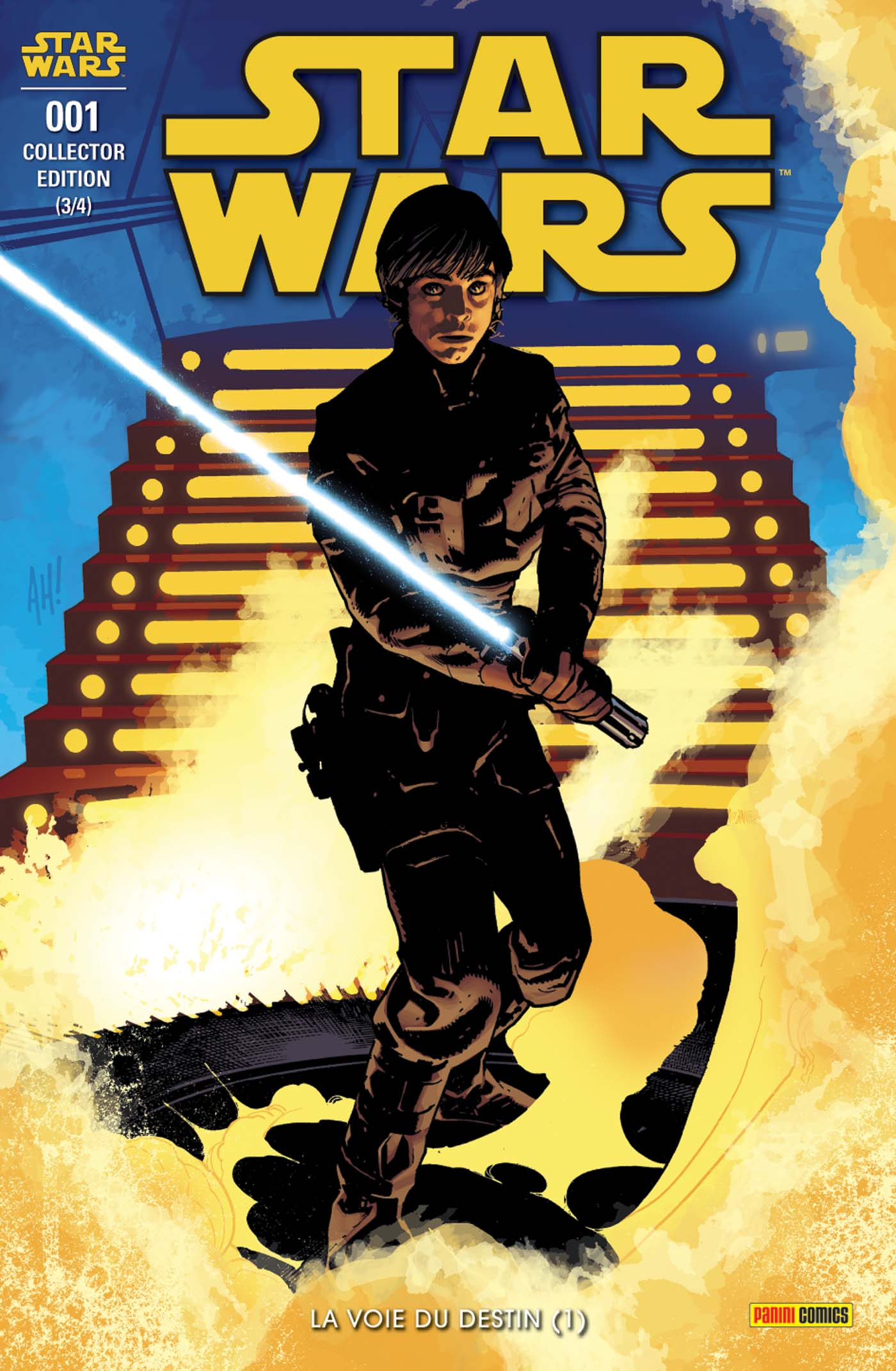 Star Wars 1 - Couverture collector 3/4