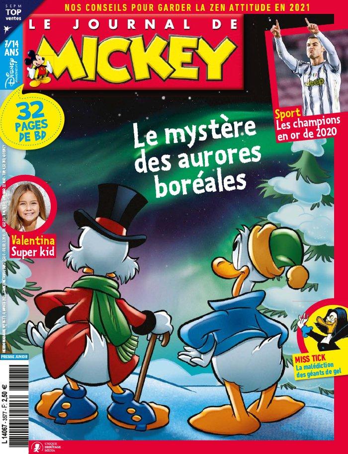 Le journal de Mickey 3577 - Les mystères des aurores boréales