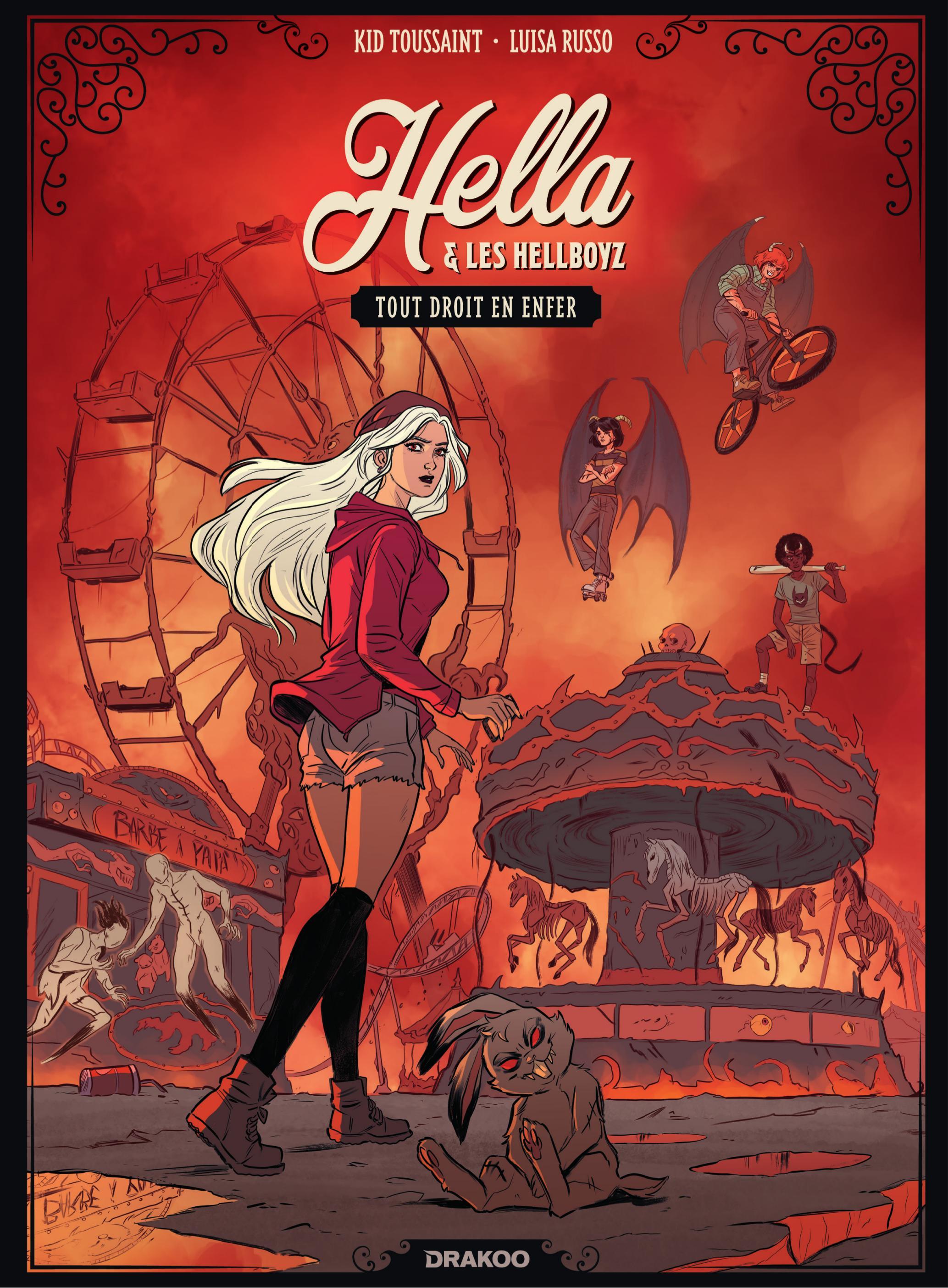 Hella & les hellboyz 1 - Tout droit en enfer