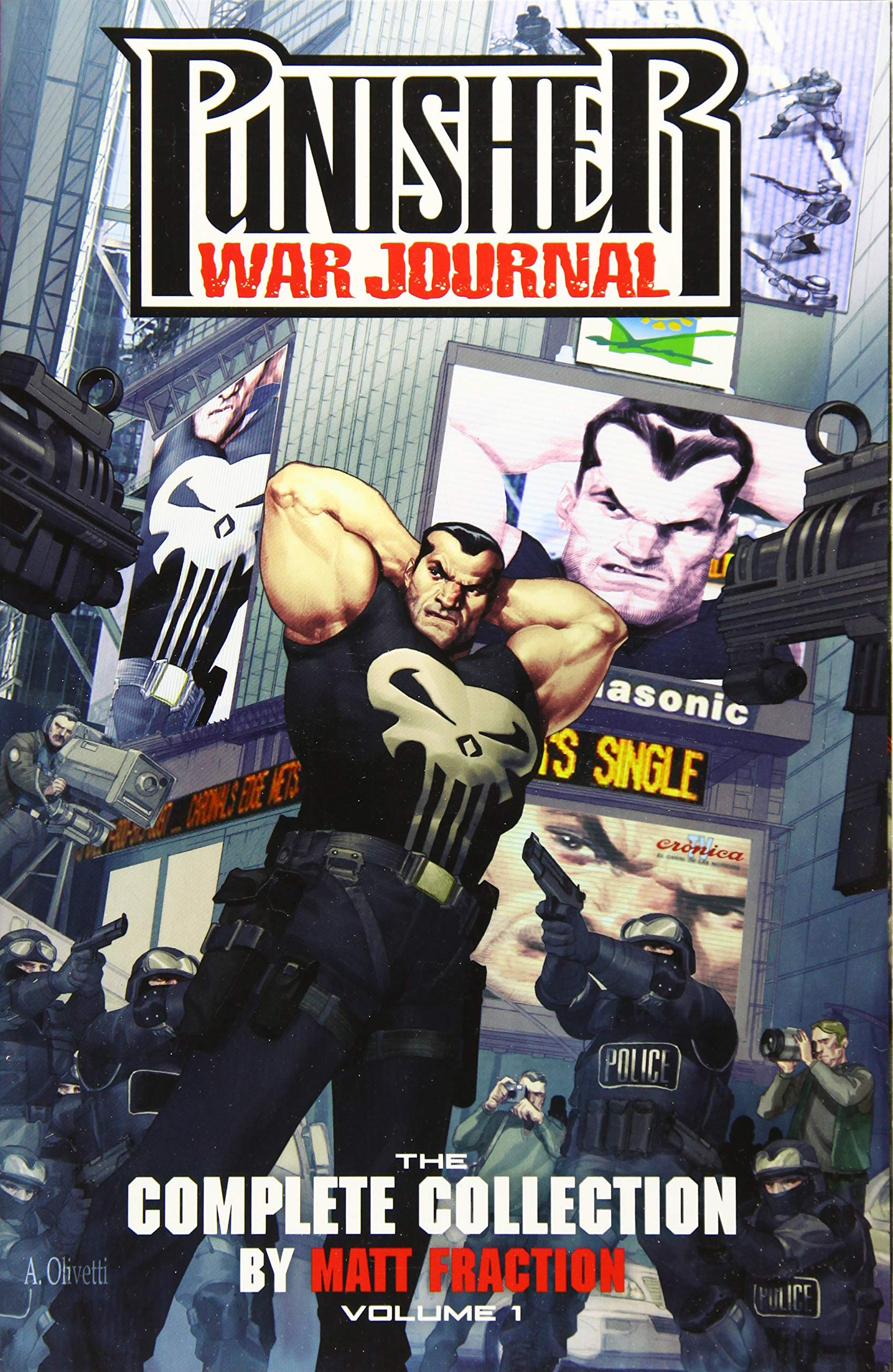 Punisher War Journal 1 - Punisher War Journal by Matt Fraction: The Complete Collection Vol. 1