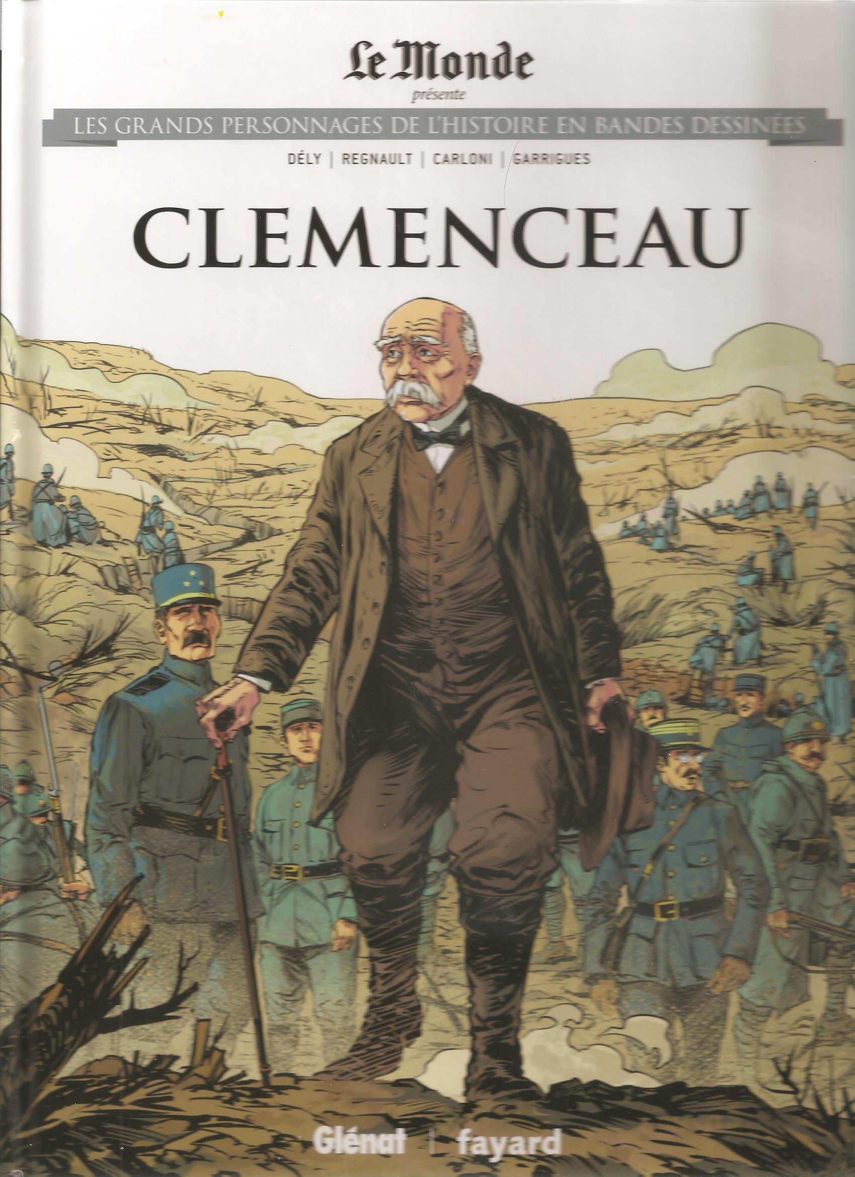 Les grands personnages de l'histoire en bandes dessinées 18 - CLEMENCEAU