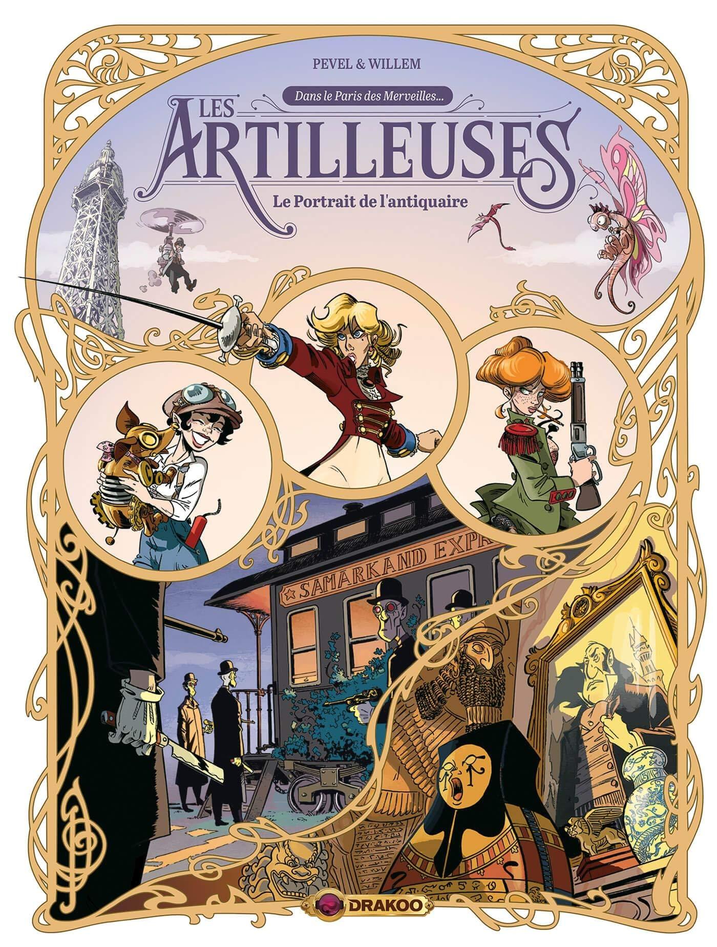 Les Artilleuses 2 - Le portrait de l'antiquaire