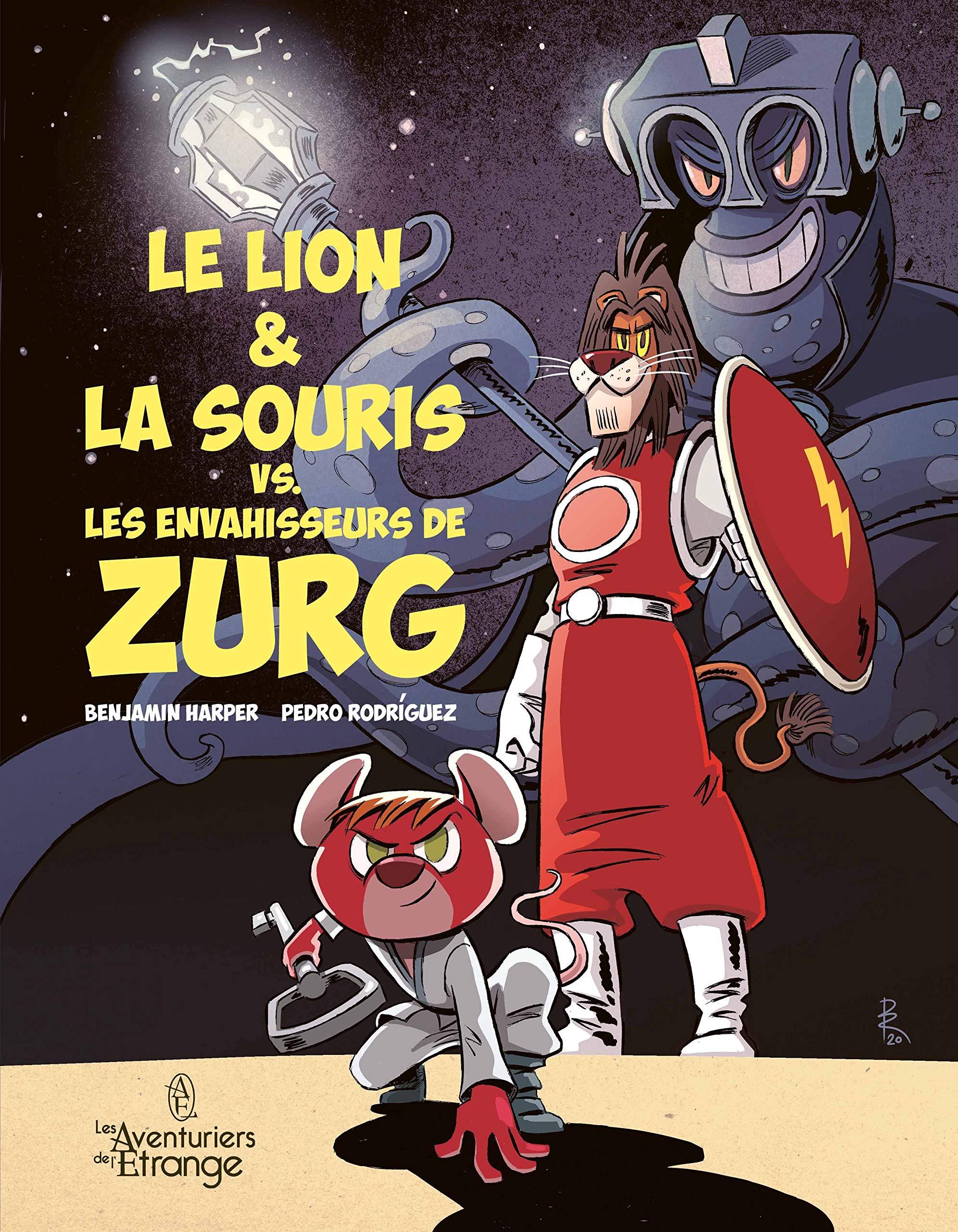 Le lion & la souris vs. les envahisseurs de Zurg 1