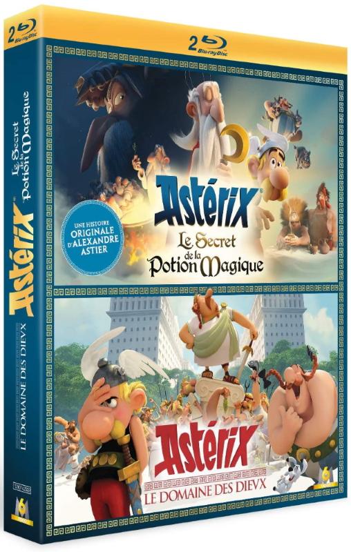 Astérix - Le Domaine des Dieux + Le Secret de la Potion Magique 0 - Coffret 2 films Astérix