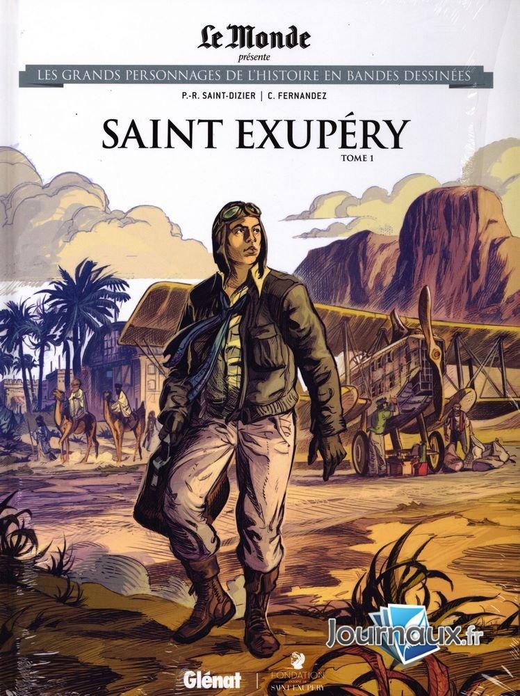 Les grands personnages de l'histoire en bandes dessinées 59 - Saint exupéry t1