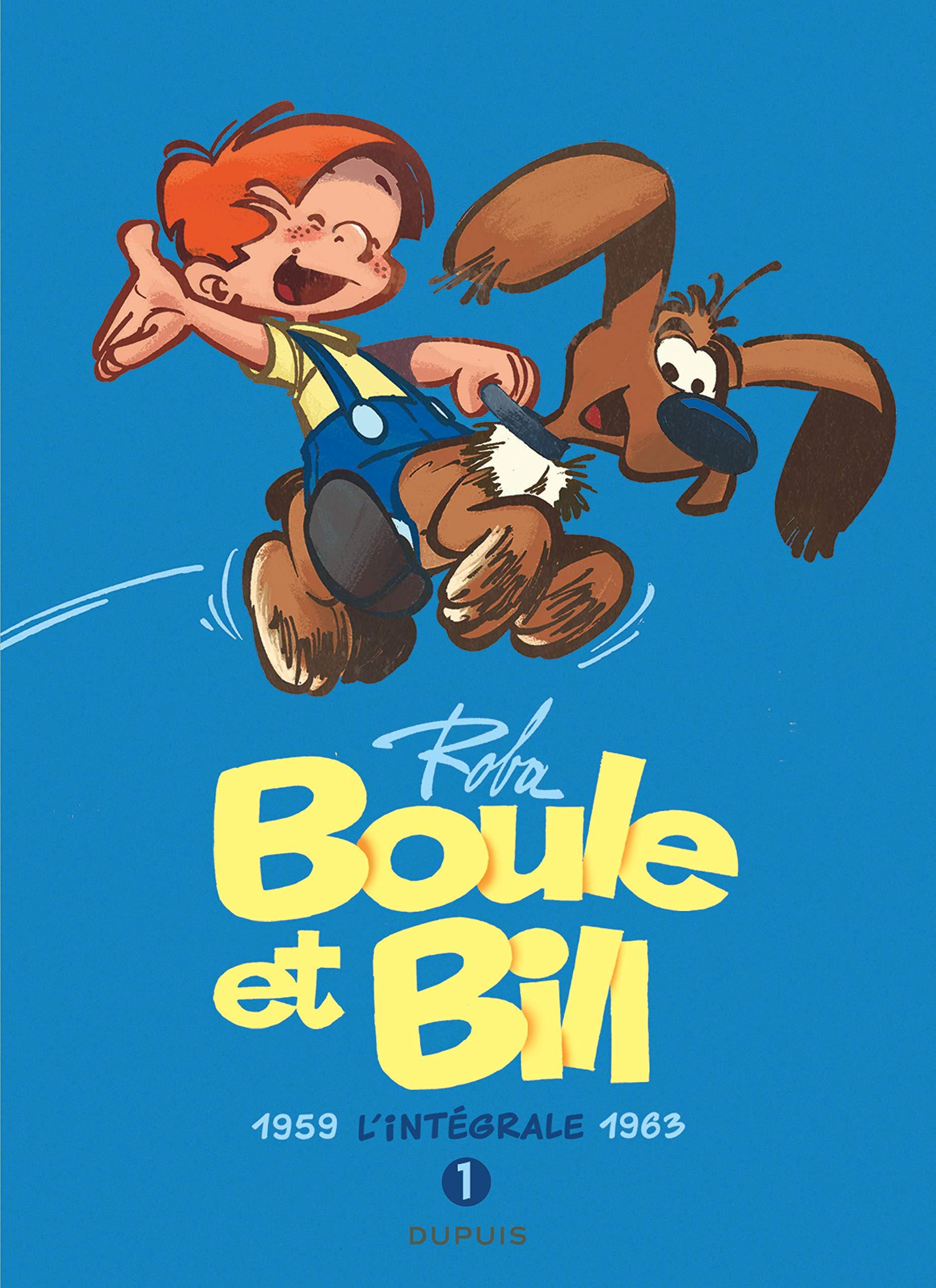 Boule et Bill 1 - L'intégrale, tome 1 (1959-1963)