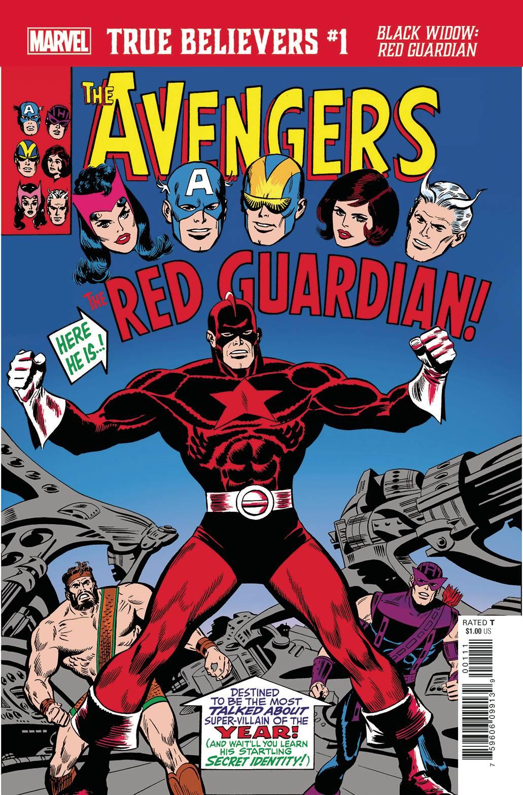 True Believers The Avengers Black Widow : Red Guardian 1 - True Believers The Avengers Black Widow : Red Guardian