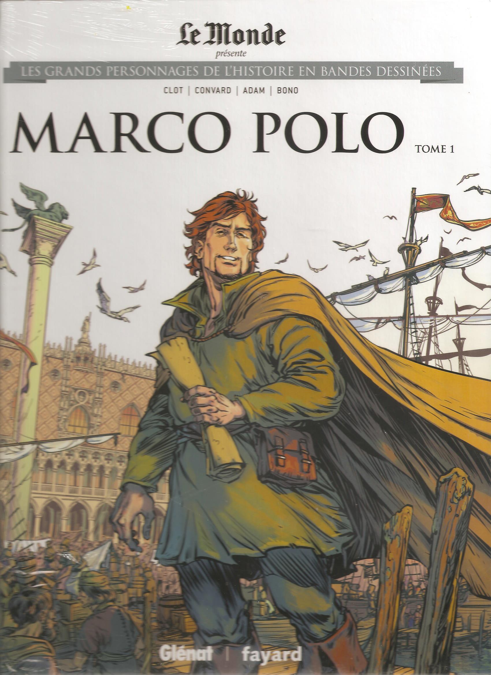 Les grands personnages de l'histoire en bandes dessinées 21 - Marco Polo 1