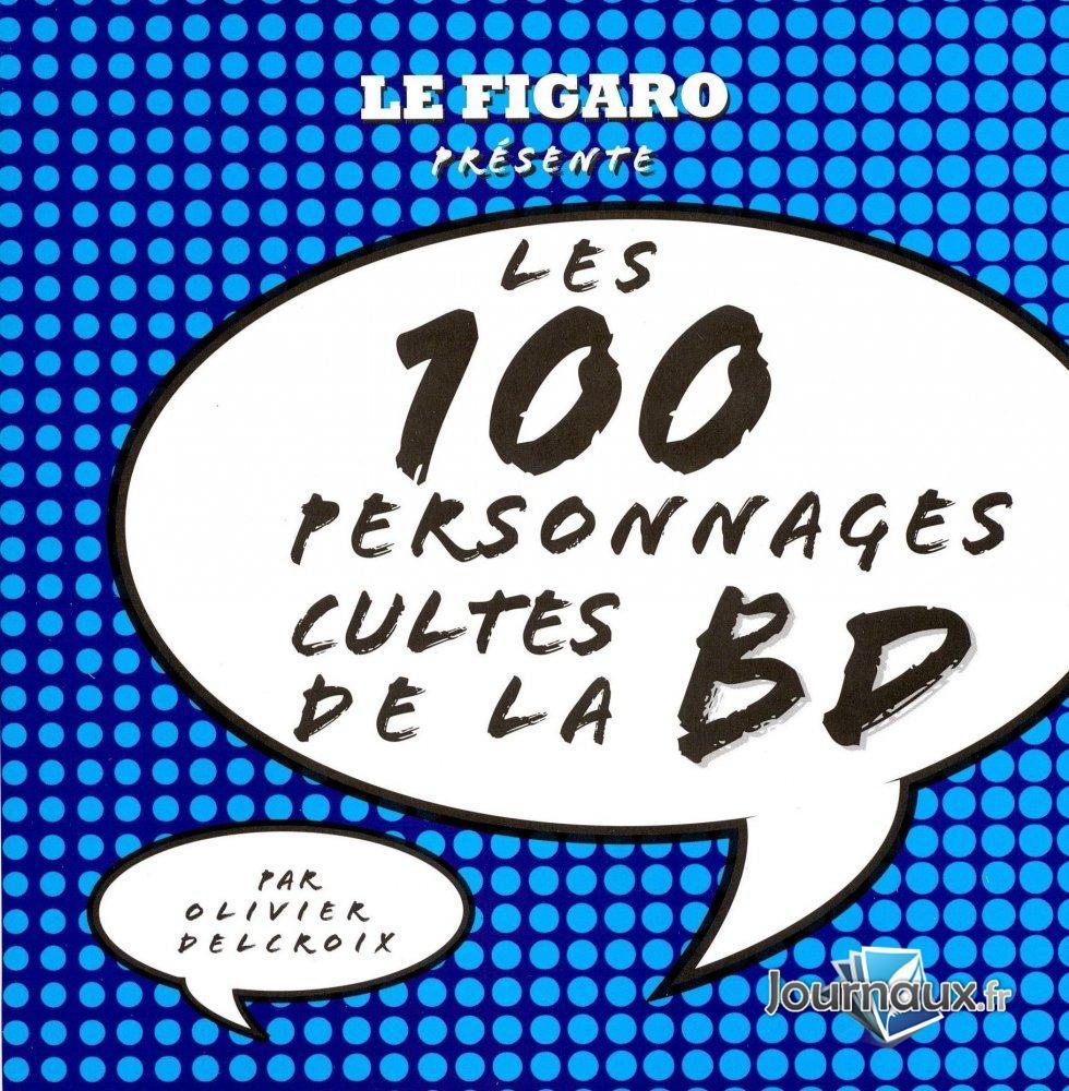 Les 100 personnages cultes de la bd 1