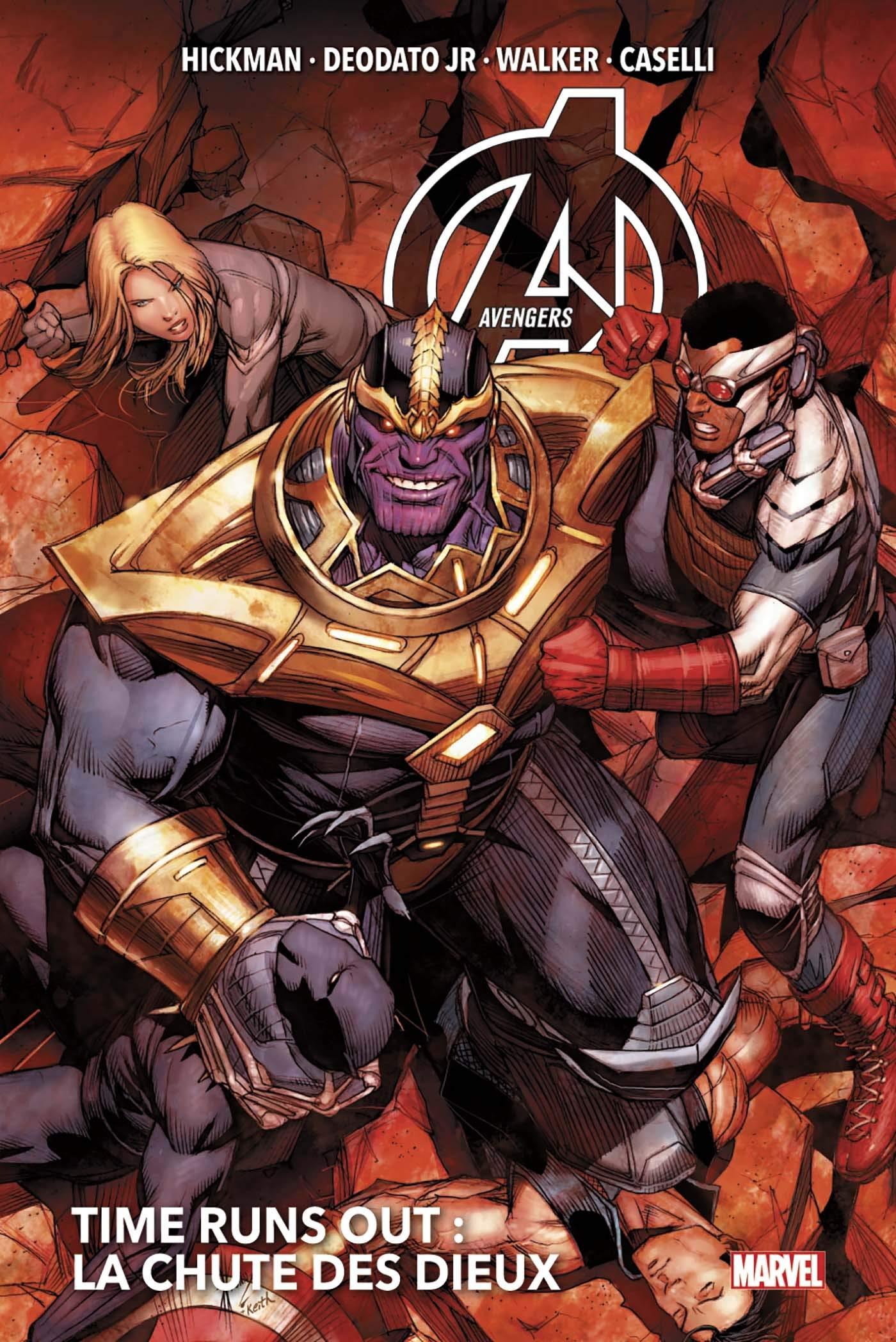 Avengers - Time Runs Out 2 - La chute des dieux