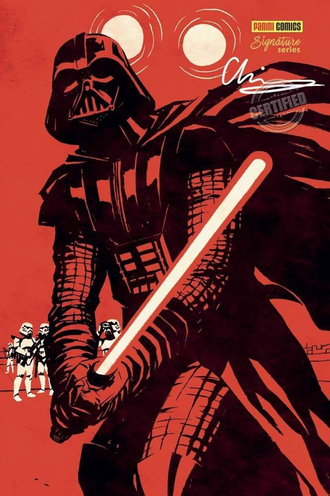 Star Wars - Darth Vader 1 - couverture signature series Panini Comics