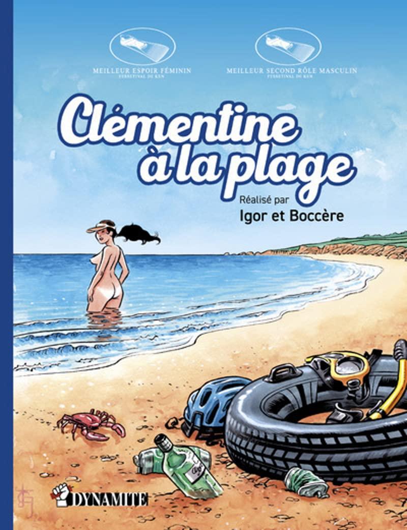 Canicule - Clémentine à la plage 1
