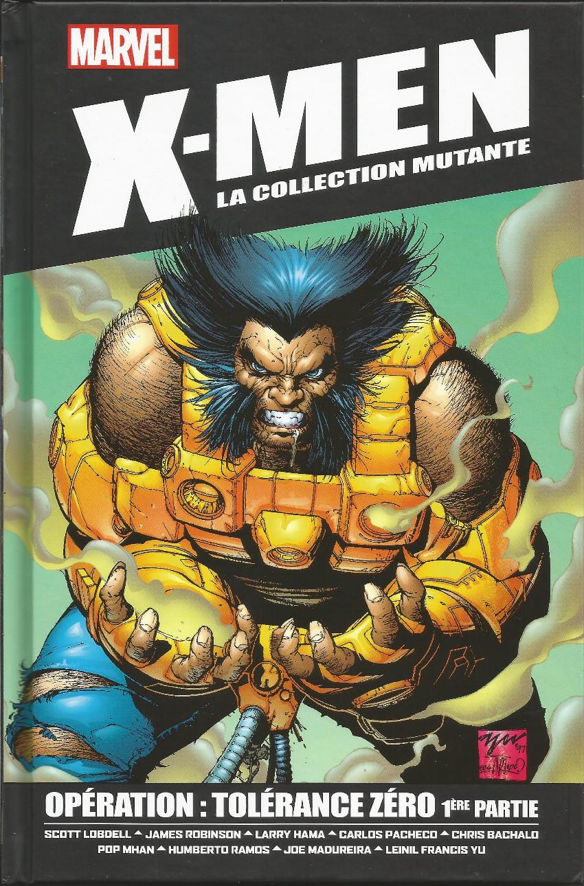 X-men - La collection mutante 61 - opération tolérance zéro - 1ère partie