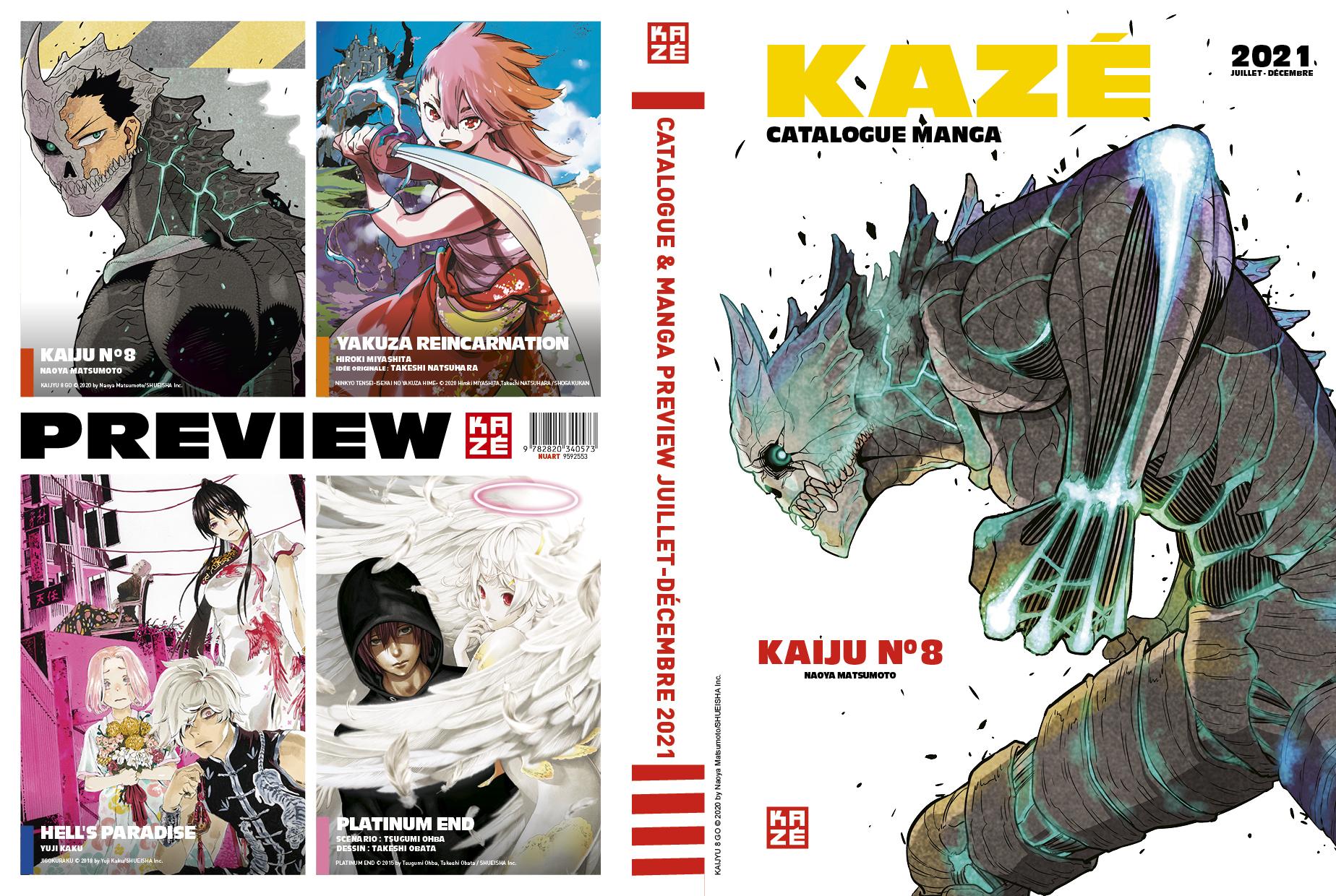Manga Preview Kazé 7 - Juillet - Décembre 2021
