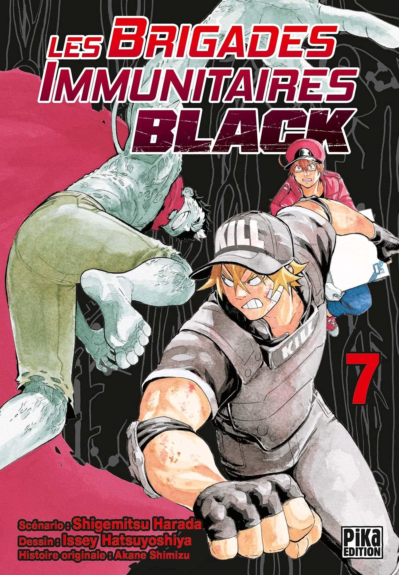 Les Brigades Immunitaires Black 7