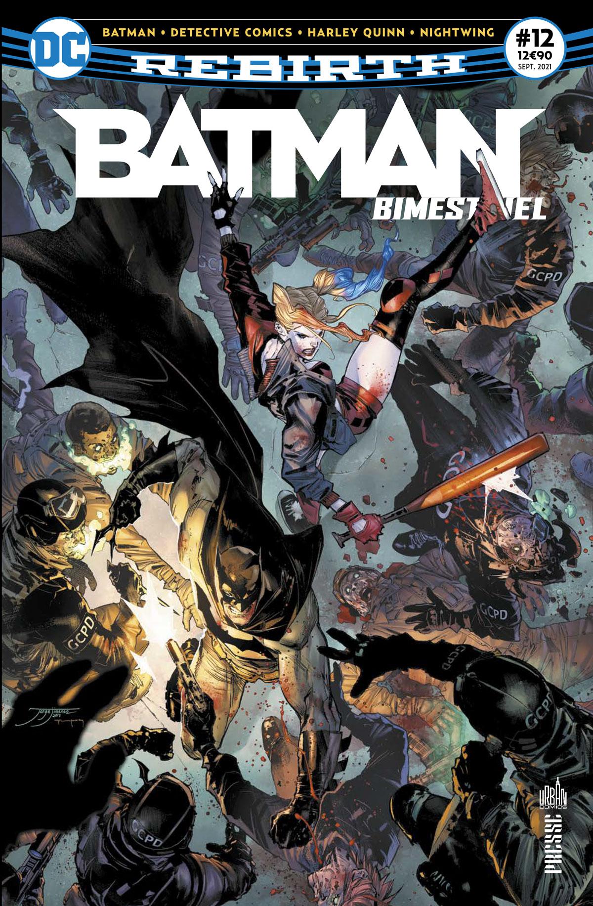Batman bimestriel 12 - Batman Rebirth (Bimestriel) #12