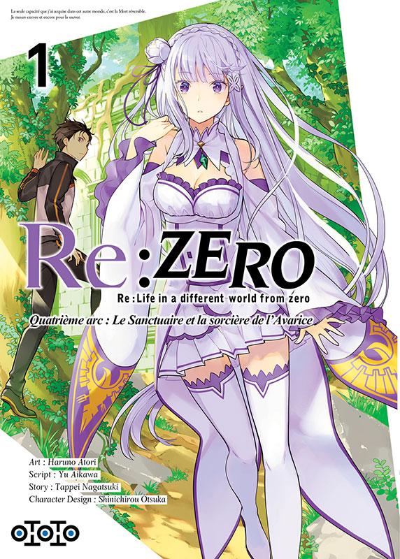 Re:Zero - Re:Life in a different world from zero - Quatrième arc : Le Sanctuaire et la sorcière de l'Avarice 1
