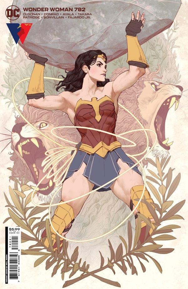 Wonder Woman 782 - 782 - cover #2