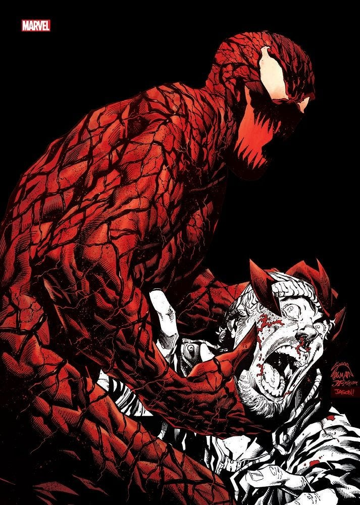 Carnage - Black white & blood 1 - Collector Edition