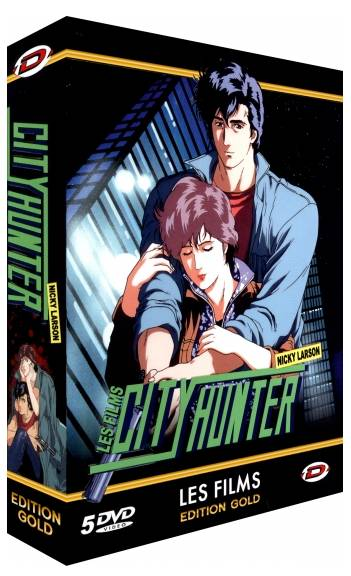 City Hunter - Nicky Larson - Pack Films   OAV