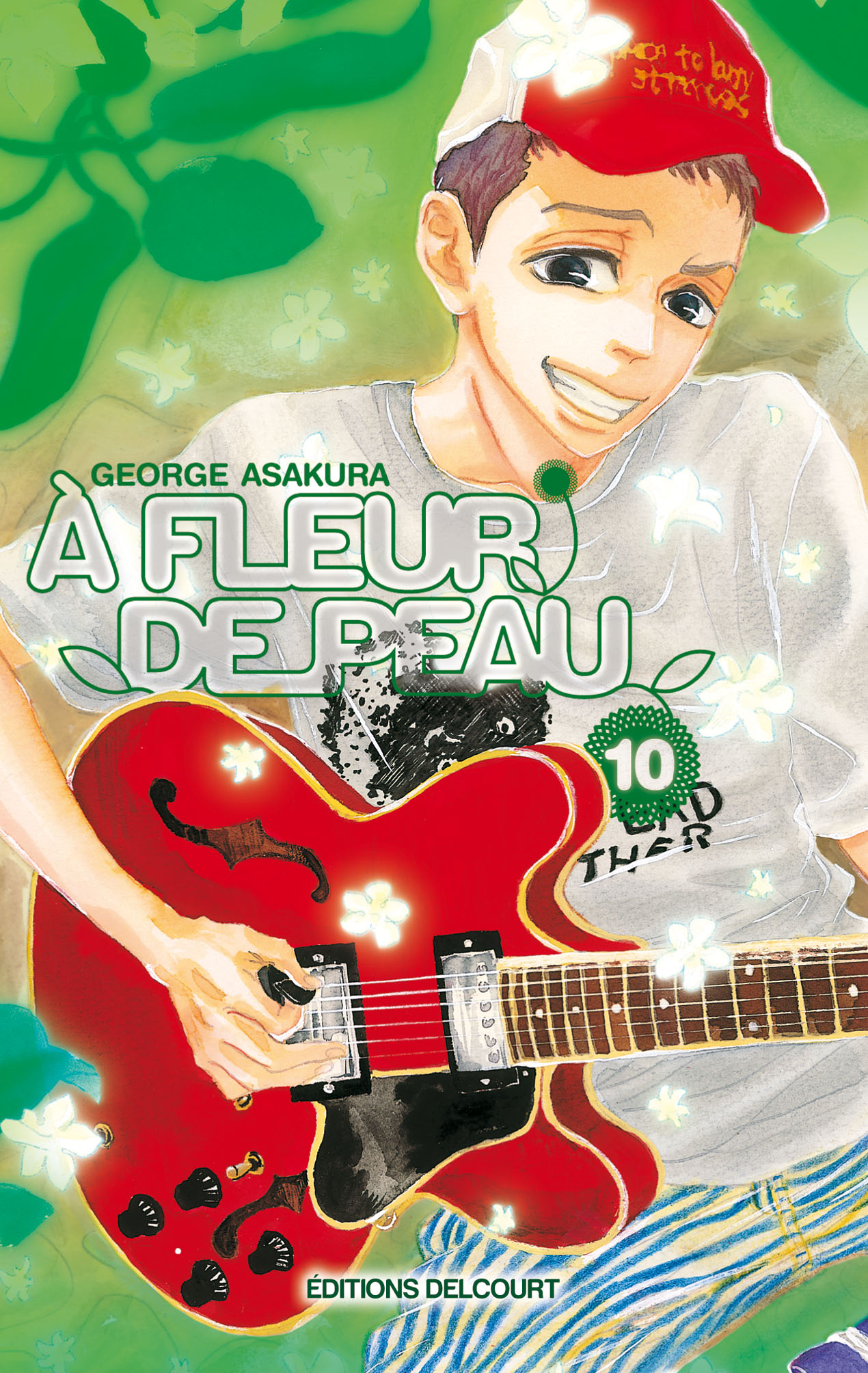 A Fleur de Peau 10 Simple (Delcourt Manga)