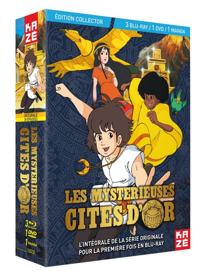 Les Mystérieuses Cités d'Or 0