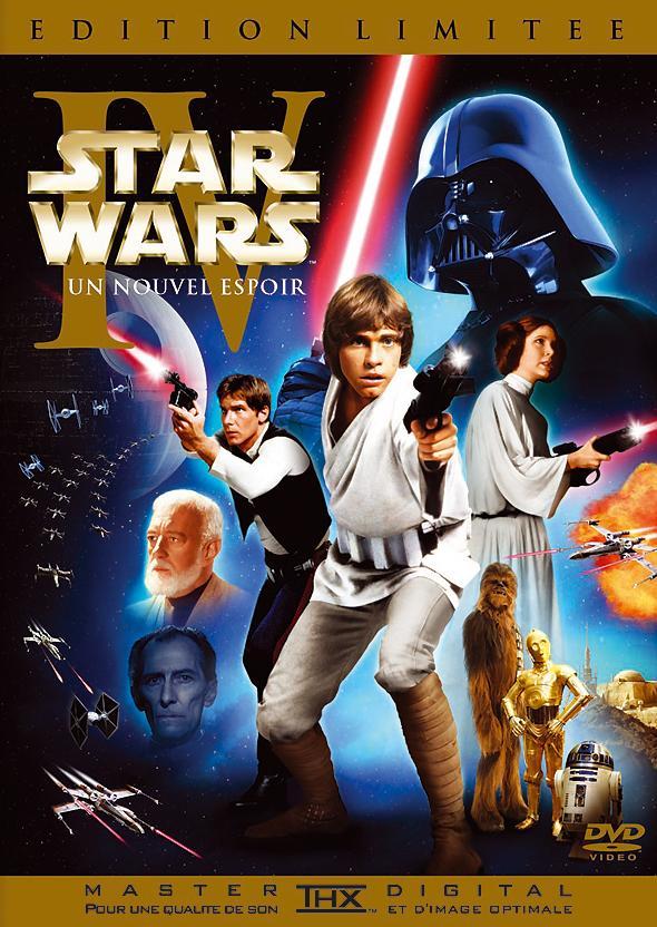 Star Wars Episode Iv Un Nouvel Espoir La Guerre Des Etoiles Limitee Dvd 20th Century Fox