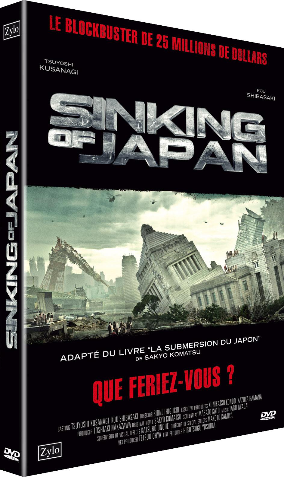 Sinking of japan 1