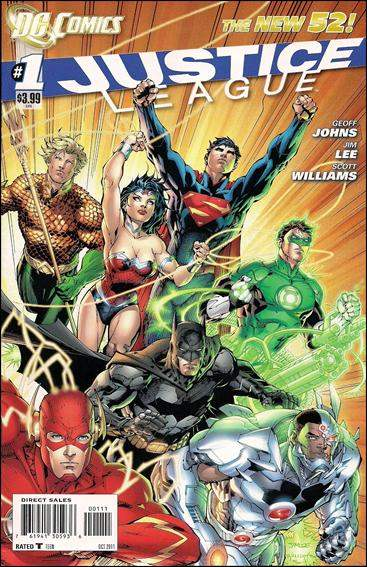 Justice League 1 - Justice League, part one
