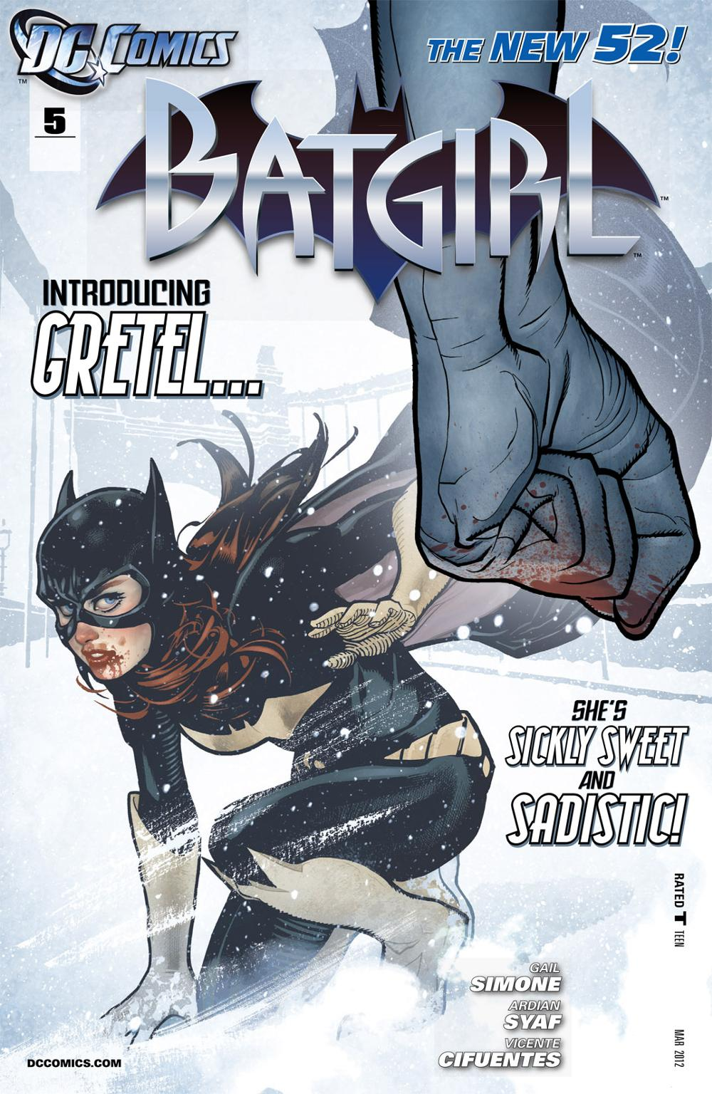 Batgirl 5 - A Candy Full of Spiders