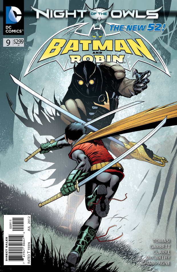 Batman & Robin 9 - Batman and Robin - Night of the Owls