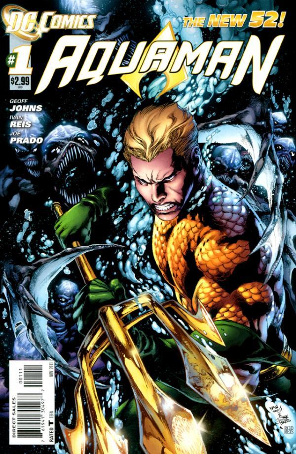 Aquaman 1 - 1 - cover #1