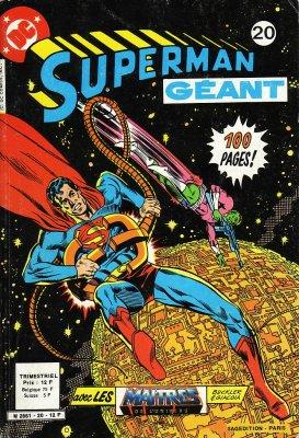 Superman Géant 20