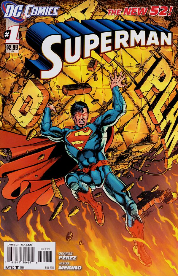 Superman 1 - 1 - cover #1