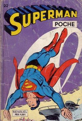 Superman Poche 22 - prisonnier a 6000 metres d'altitude