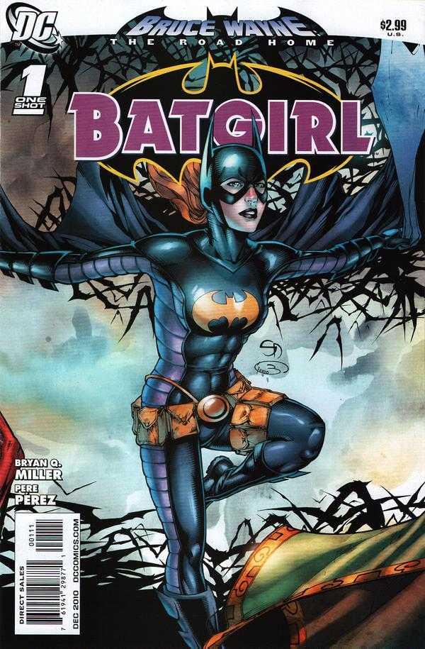 Bruce Wayne - The Road Home - Batgirl 1 - Batgirl