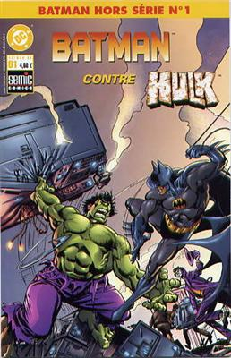 Batman Hors-Série 1 - Batman contre Hulk