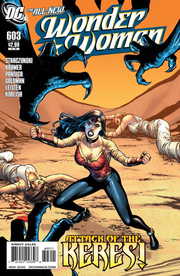 Wonder Woman 603 - Attack of the Keres - cover #1