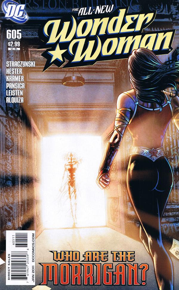 Wonder Woman 605 - Who Are the Morrigan? - cover #1