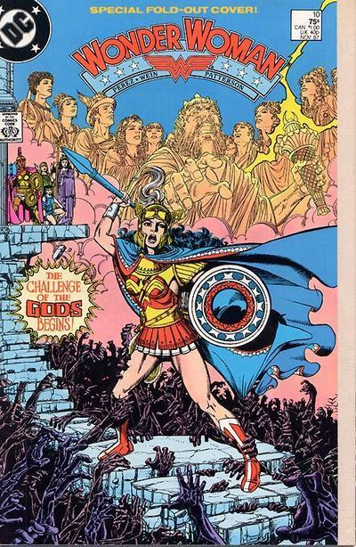 Wonder Woman 10 - The Challenge of the Gods Begins!