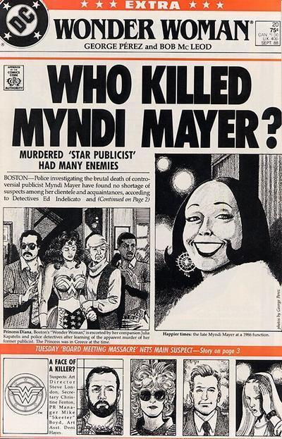 Wonder Woman 20 - Who Killed Myndi Mayer?