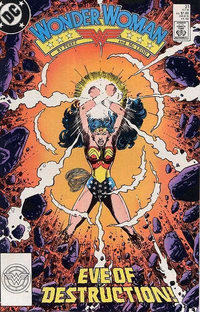 Wonder Woman 21 - Eve of Destruction