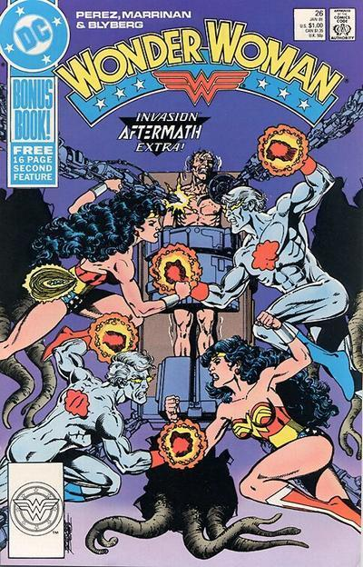 Wonder Woman 26 - Invasion Aftermath Extra!
