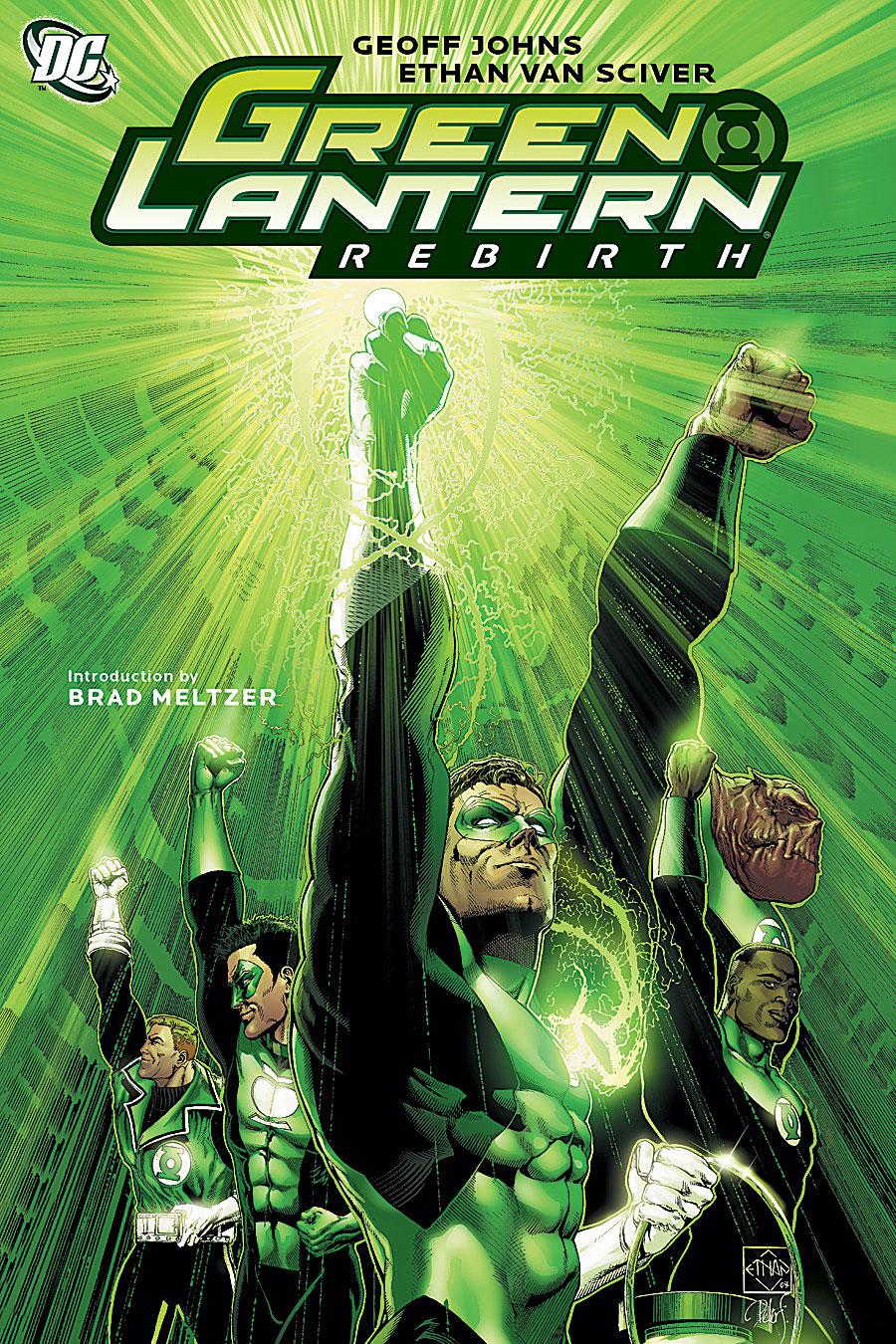 Green Lantern - Le Retour d'Hal Jordan 1 - Green Lantern : Rebirth