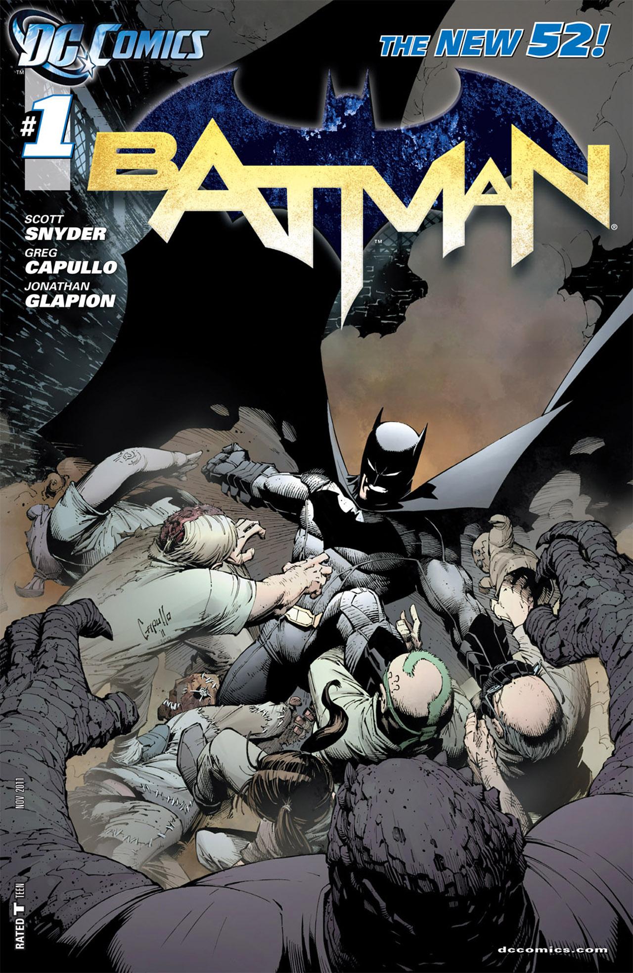 Batman 1 - Knife Trick