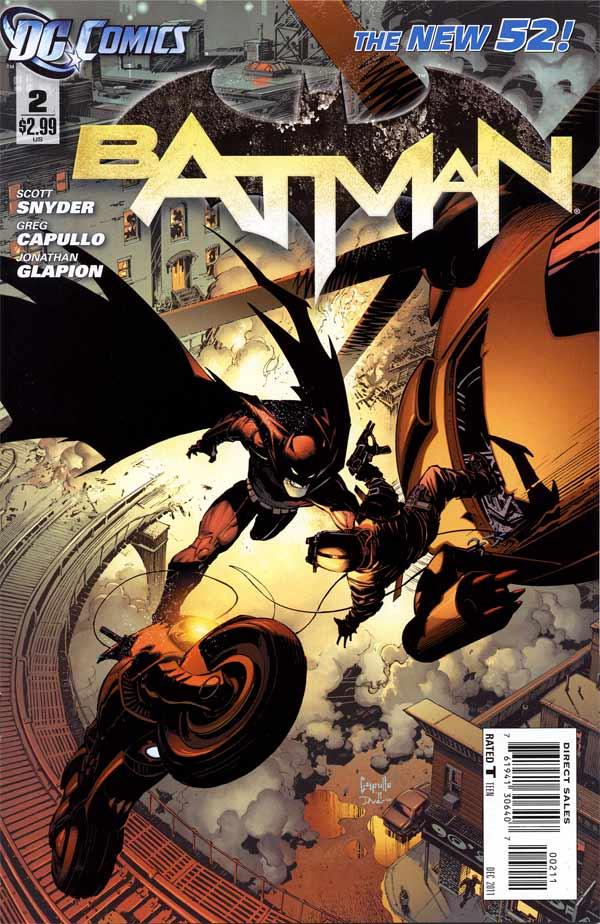 Batman 2 - 2 - cover #1