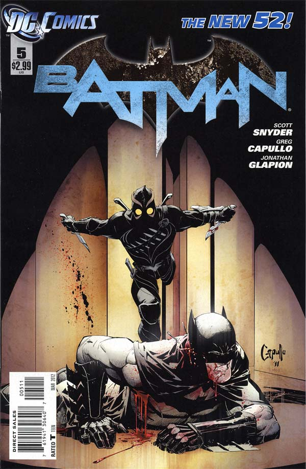 Batman 5 - 5 - cover #1