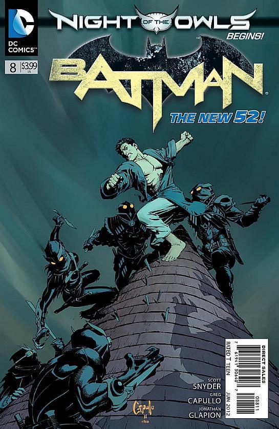 Batman 8 - 8 - cover #1