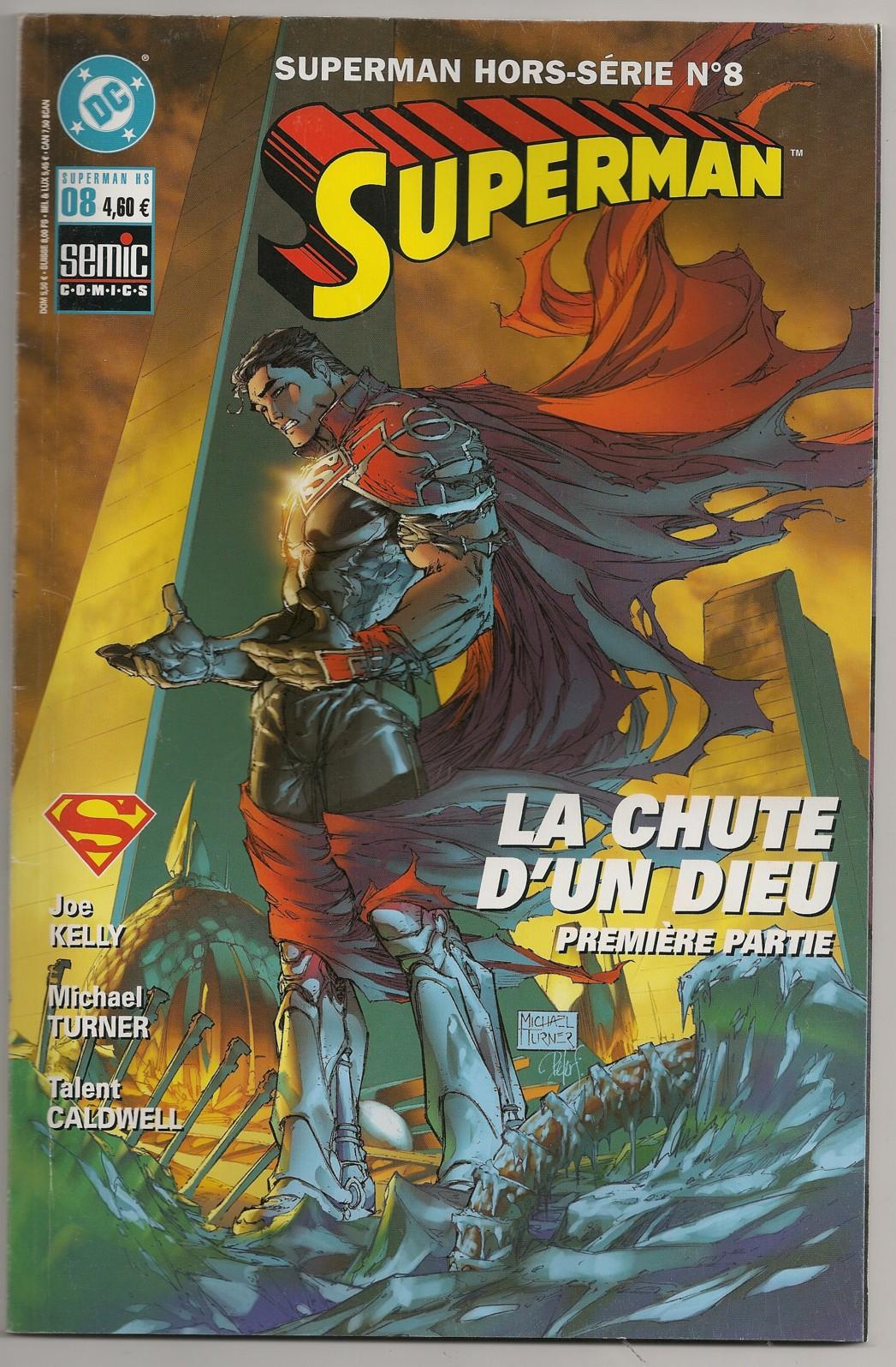 Superman Hors-Série 8 - La chute d'un dieu, première partie